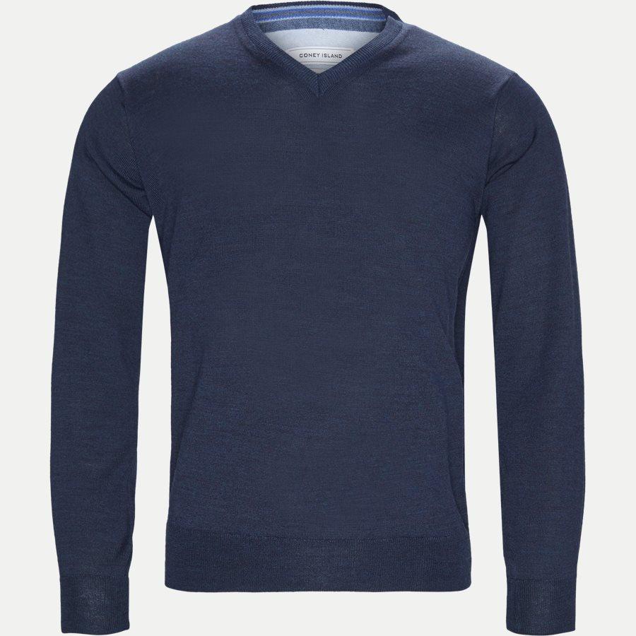SMARALDA - Knitwear - Regular - NAVY MEL - 1